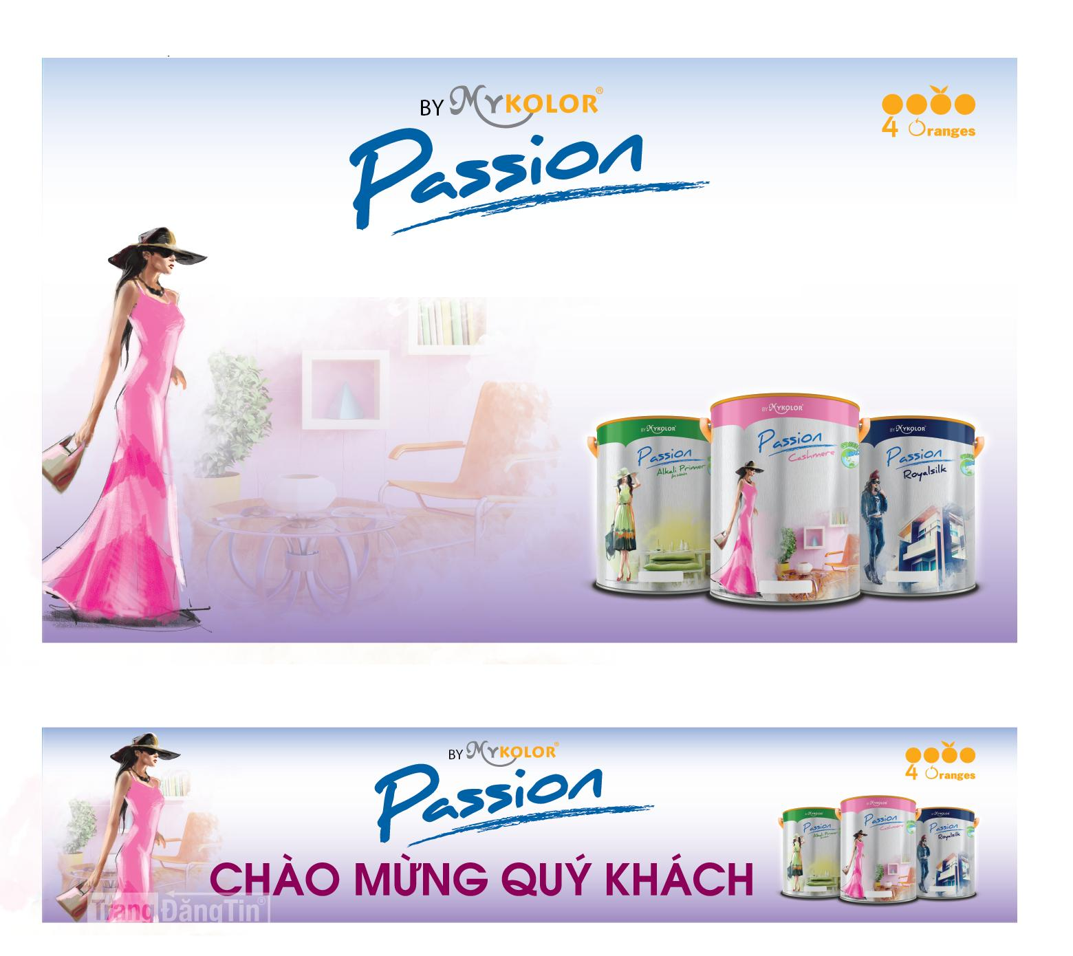 Sơn Mykolor Passion Chiết khấu cao